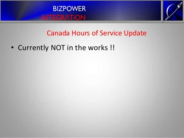 Eobr Hos Electronic On Board Reader And Hours Of Service Canada