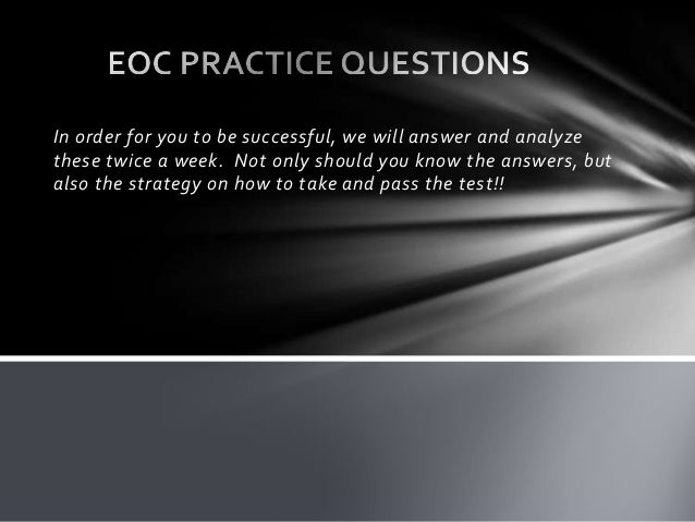 Civics Eoc Practice Test - slidesharetrick