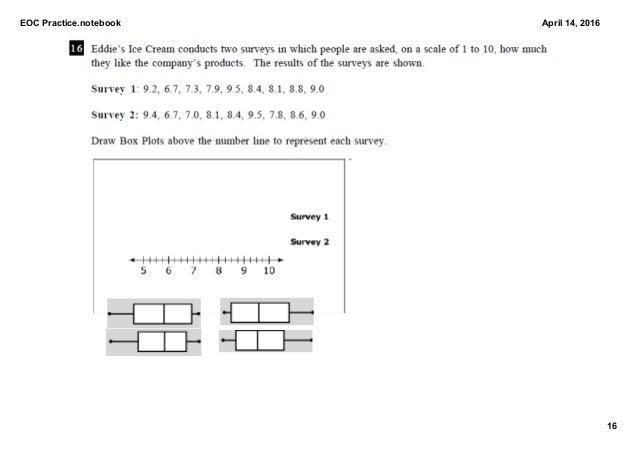 Algebra 1 - EOC Practice Test