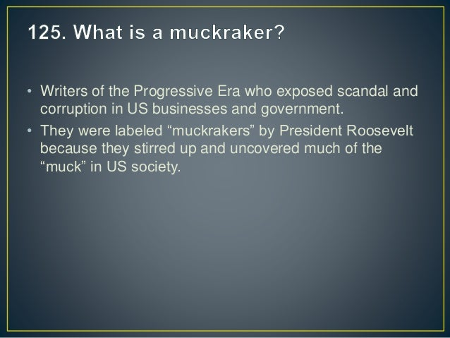 a review of the progressive era The progressive era: an intro what was the progressive era a period of reform  on national and state levels from 1900 – 1920 who were progressives.