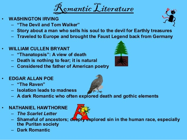 the devil and tom walker supernatural elements 2 examples of romantic elements in the devil and tom walker - 6458666.