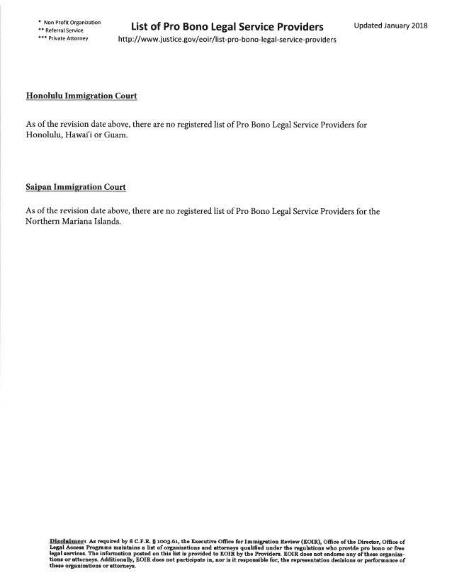 * Non Profit Organization *t Referral Service tt+ Private Attorney List of Pro Bono Legal Service Providers http://www.jus...