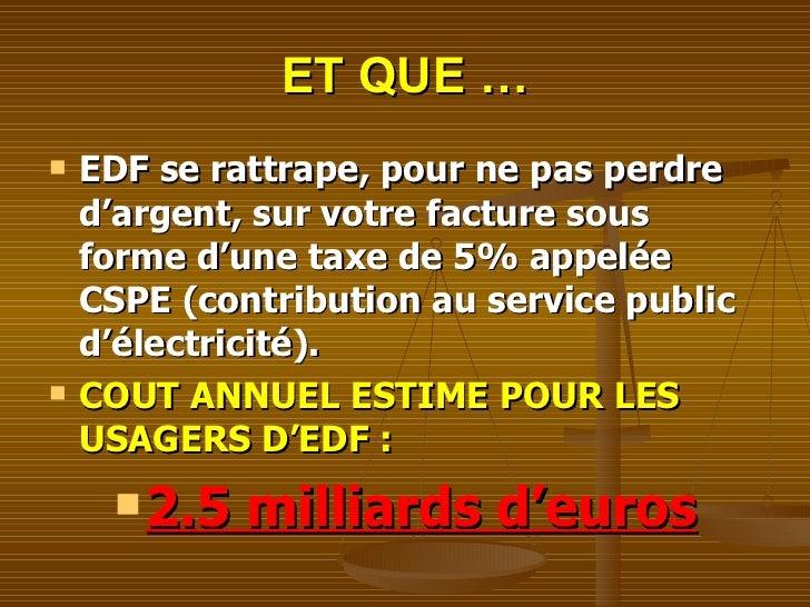 La v rit sur le eoliennes - Contribution au service public de l electricite ...