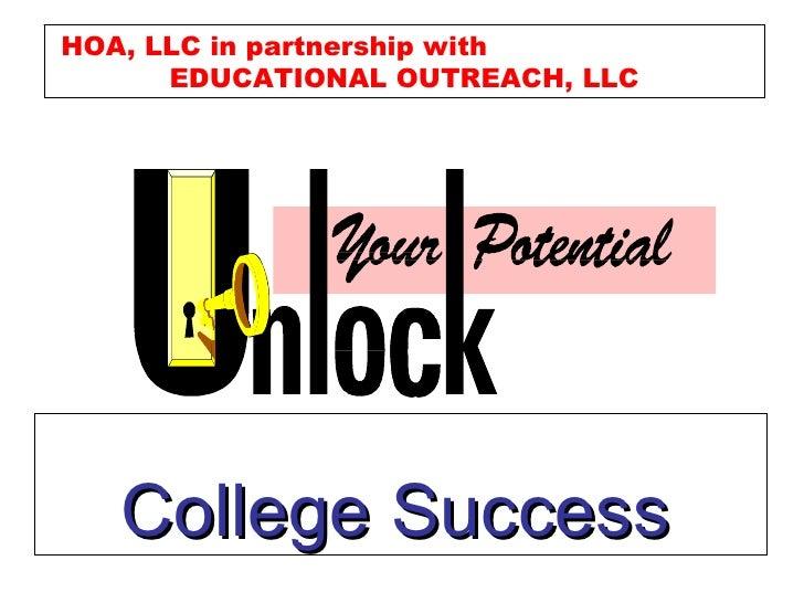 College Success Briefing