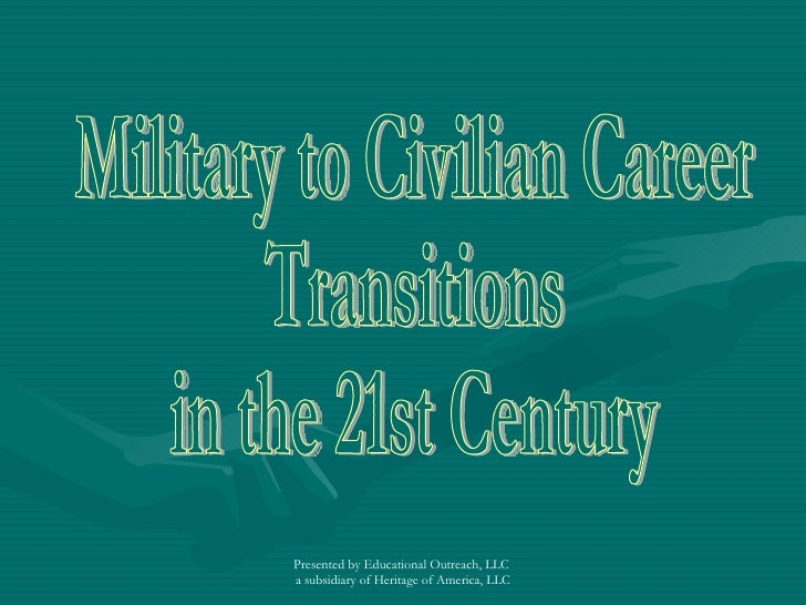 Military To Civilian Career Transition