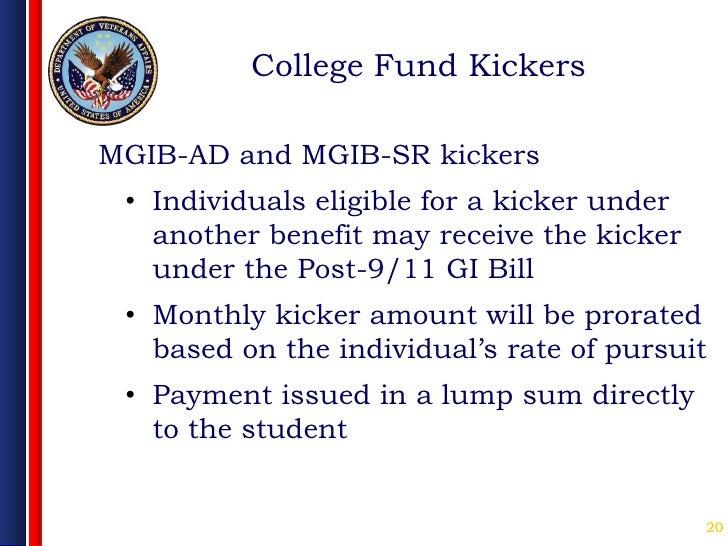 The GI Bill Kicker   Military.com