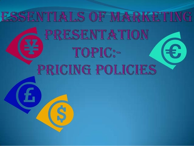 CONTENTSPricePricing ObjectivePricing DecisionFactors Affecting Pricing DecisionsDetermining DemandMethods Of Pricin...