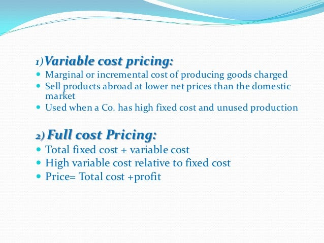 Competition-Based Pricing                  Setting Prices                   Going-Rate      Company Sets Prices Based on W...