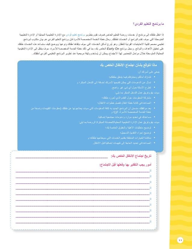 22 الفردي؟ التعليم برنامج ما التعليمية اإلدارة أو المحلية التعليمية اإلدارة مع فردي تعليم برنام...