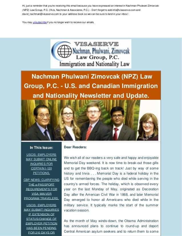 U S  IMMIGRATION LAW NEWS AND UPDATES: THE H-1B AND L-1 FEE