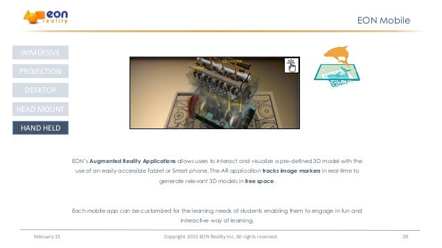 educational application of augmented reality education essay Evaluation of a portable and interactive augmented reality learning system   science center to go –project created an implementation of augmented reality ( ar) technology  mind: collected essays in anthropology.