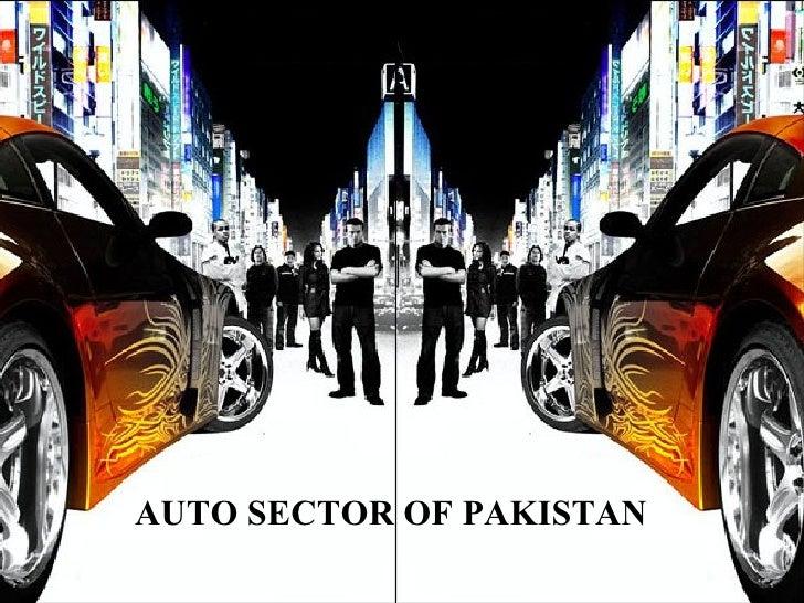 AUTO SECTOR OF PAKISTAN