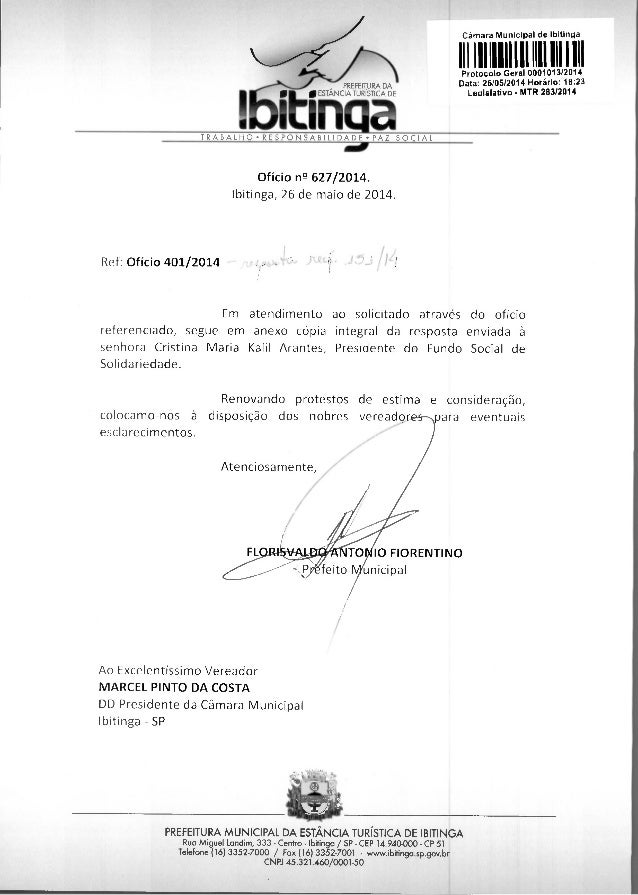 10 FIORENTINO feito unicipal PREFEITURA DA in aTIESTANCaIA TURIS11CA DE Câmara Municipal de Ibitinga 111 11111111 1 11 11...