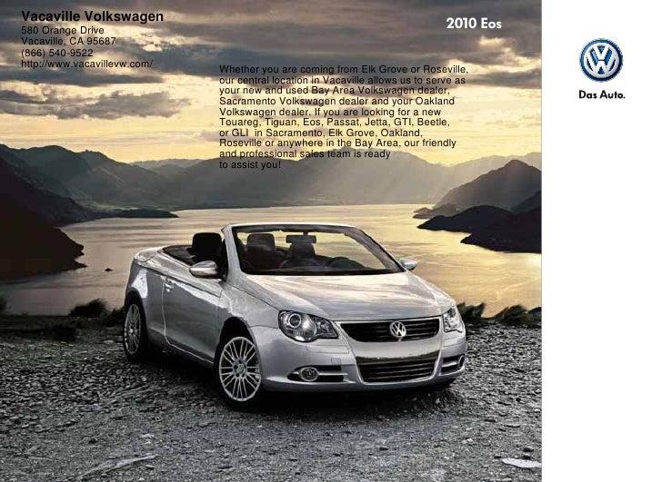 2010 Volkswagen Eos Sacrato