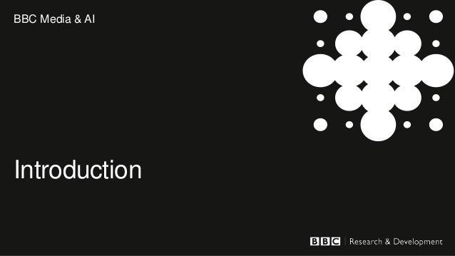 BBC Research & Development use case for EOSC-DIH Slide 3