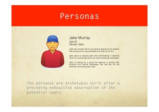Persona template