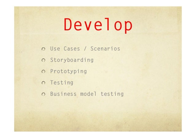 Create your first use case