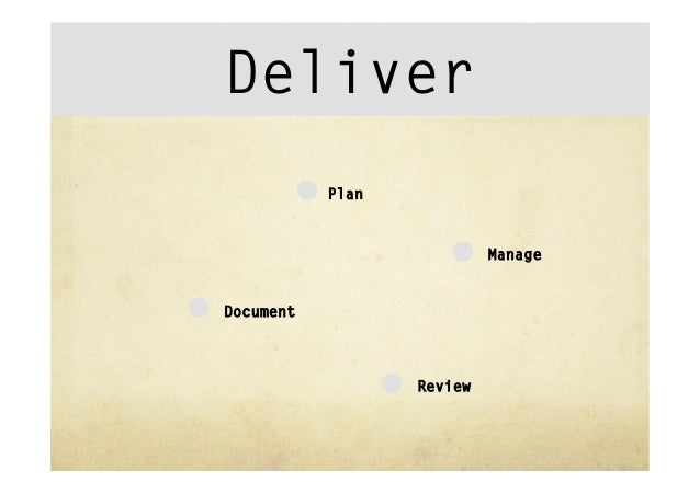"""Deliver""""  Business case""""  Working group""""  Service Blueprint""""  Business Model""""  Prototype""""  The Cover Story"""
