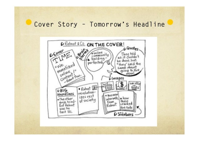 Cover Story – Tomorrow's Headline      A Funny thing happened on the way              to the Internet…1. Tell the AWIA st...