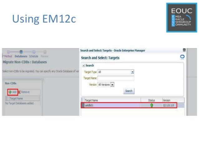 Using EM12c