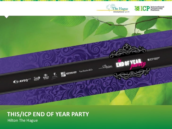 THIS/ICP END OF YEAR PARTYHilton The Hague