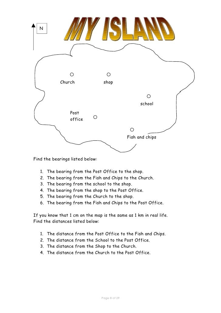 Printables Geography Skills Worksheets skills worksheets davezan geography davezan