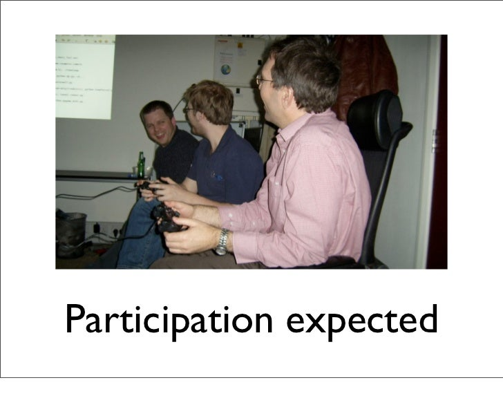 Participation expected