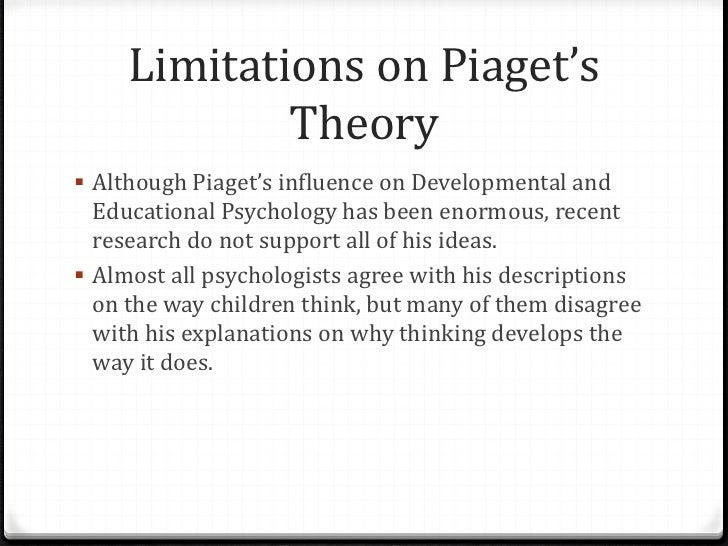 what did piaget mean by the american question