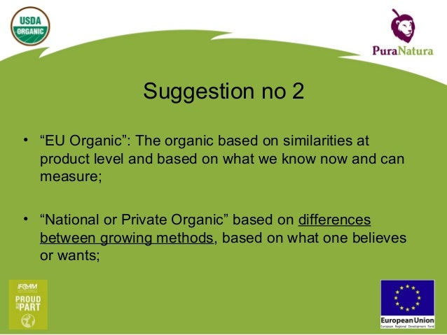 """EU Organic: Make the exclusive good into the inclusive better, start with """"Greenhouse Cultivation"""""""