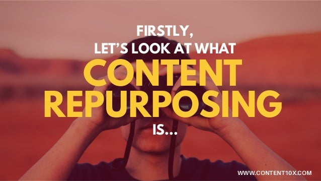 5 Reasons Why You Should Repurpose Your Content Slide 2