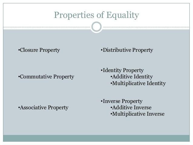Commutative Property Definition