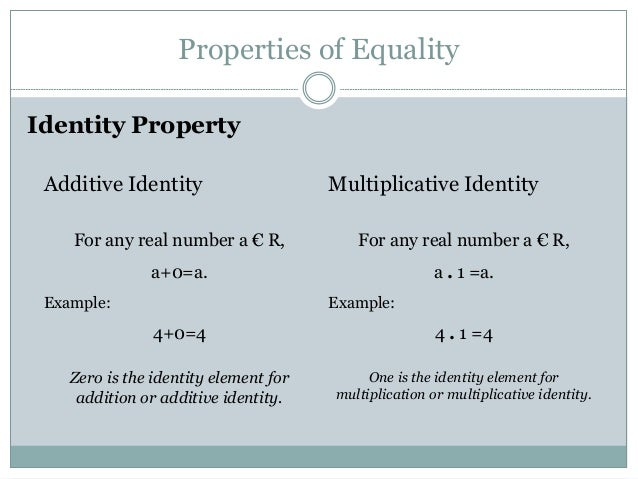 Real Numbers Definition Property System