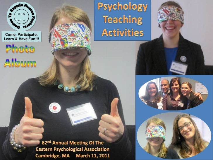 Psychology<br />Teaching<br />Activities<br />Games To Explain Human Factors: Come, Participate, Learn & Have Fun!!!<br />...