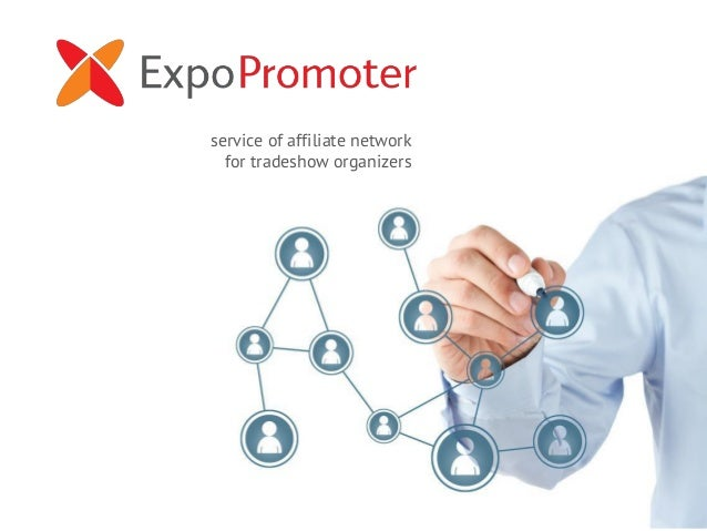 service of affiliate network for tradeshow organizers