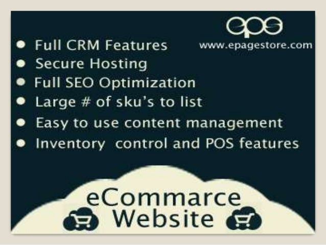 ePagestore Inc. - Full featured Ecommerce Website Development Company in Ahmedabad India.  Ecommerce Website is the fir...