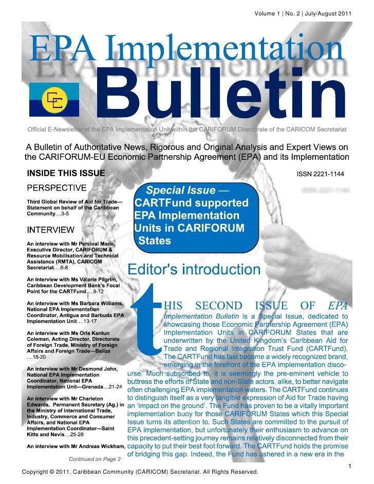 Volume 1 | No. 2 | July/August 2011                                                                                       ...