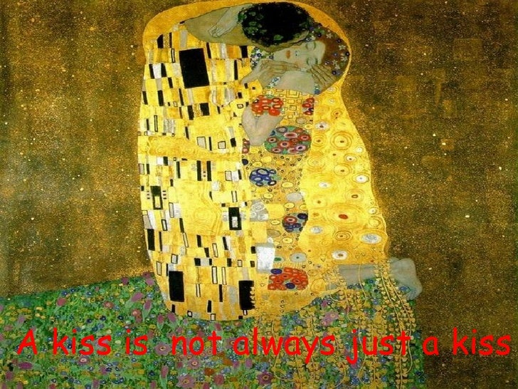A kiss is  not always just a kiss