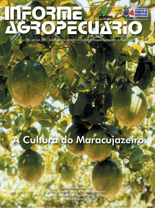 A cultura do maracujazeiro                                                                                                ...