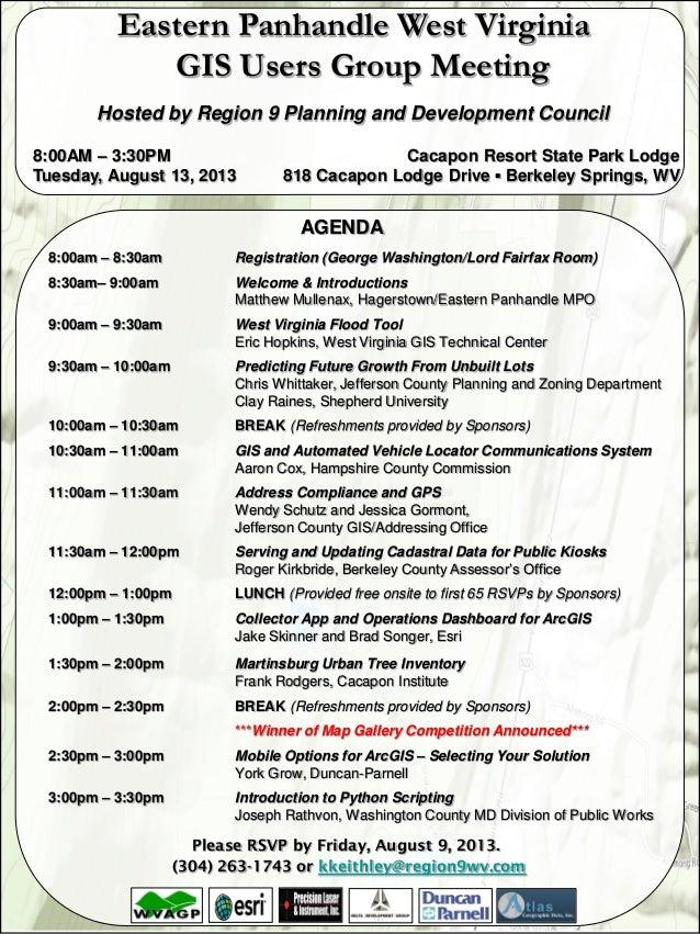 AGENDA 8:00am – 8:30am Registration (George Washington/Lord Fairfax Room) 8:30am– 9:00am Welcome & Introductions Matthew M...