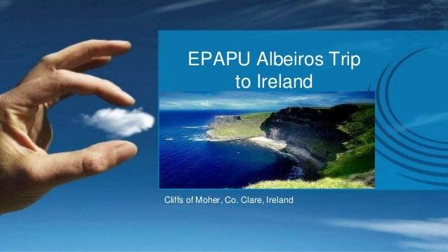 EPAPU Albeiros Trip  to Ireland  Cliffs of Moher, Co. Clare, Ireland