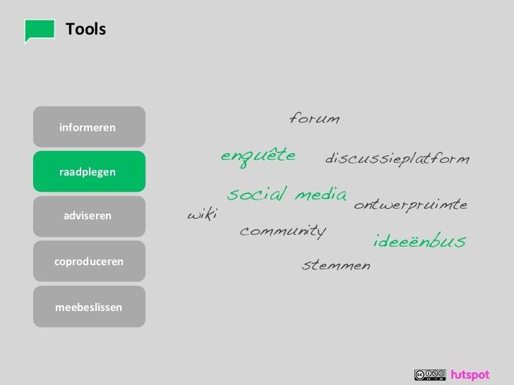 Tools                          foruminformeren                  enquête     discussieplatformraadplegen                   ...