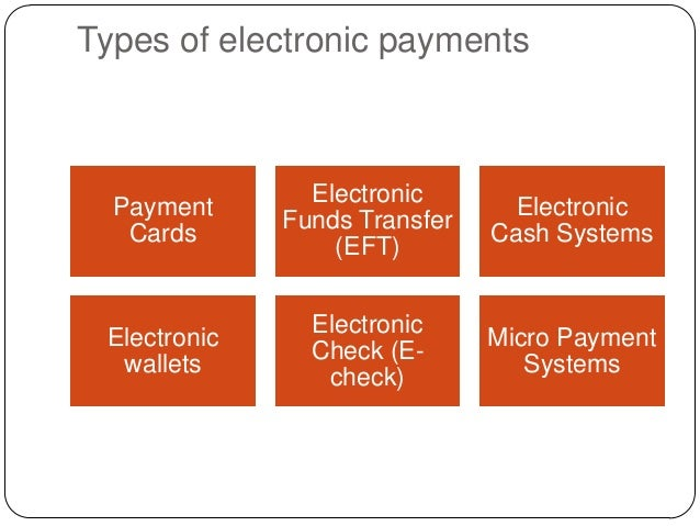 electronic payment system Electronic payment systems for e-commerce, second edition delivers an up-to- date, in-depth examination of how payments are made electronically across the.