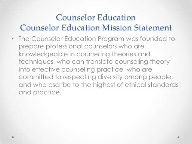 Epce School Counseling Orientation For P13
