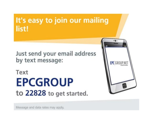 Join EPC Group's Monthly Newsletter
