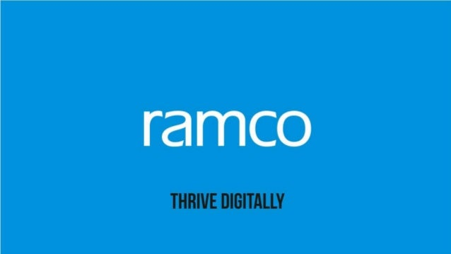 2 Ramco ERP on Cloud – EPC Solution