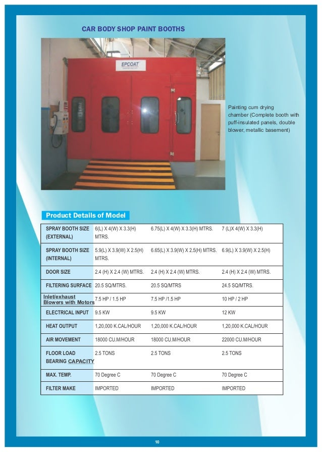 Tunnel Type Paint Booth by Epcoat