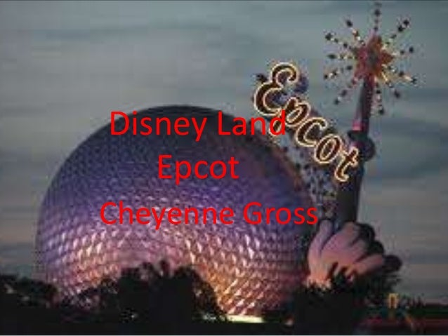 Disney Land Epcot Cheyenne Gross