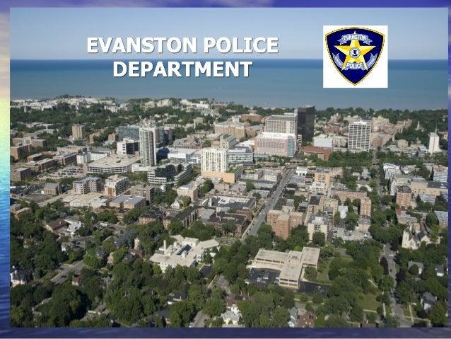 Evanston Police Department Presentation to City Council - 1/27/14
