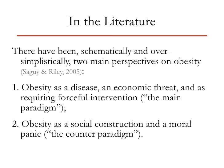 Children's understandings' of obesity, a thematic analysis
