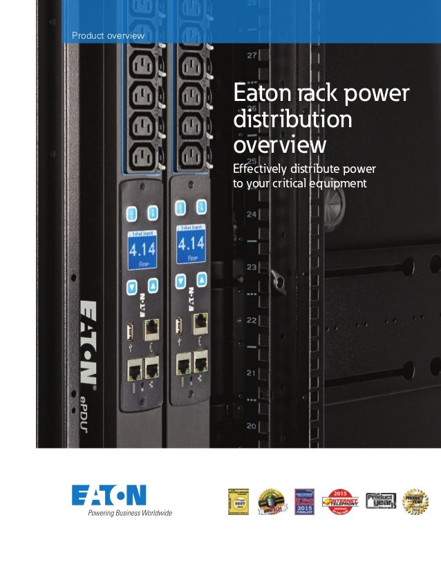 Eaton rack power distribution overview Effectively distribute power to your critical equipment Product overview